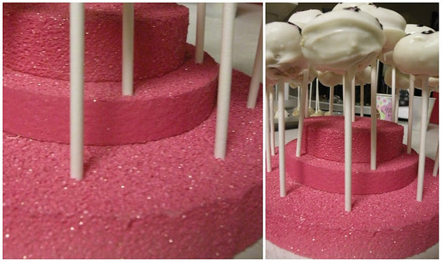 Styrofoam Cake Pop Holder