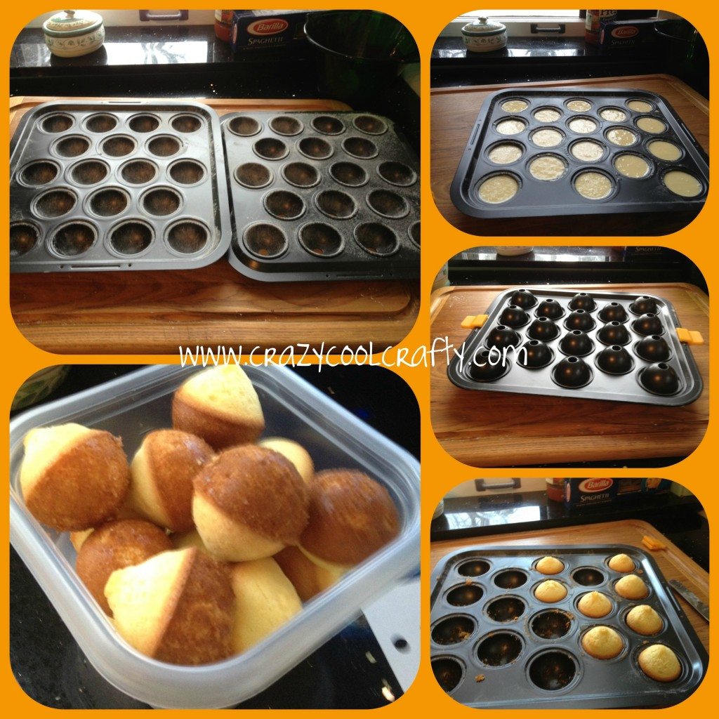how to make cake pops with a pan